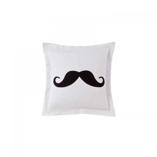 3 SUISSES Collection - Taie d'oreiller Coton MOUSTACHE - Taie d'oreiller, traversin