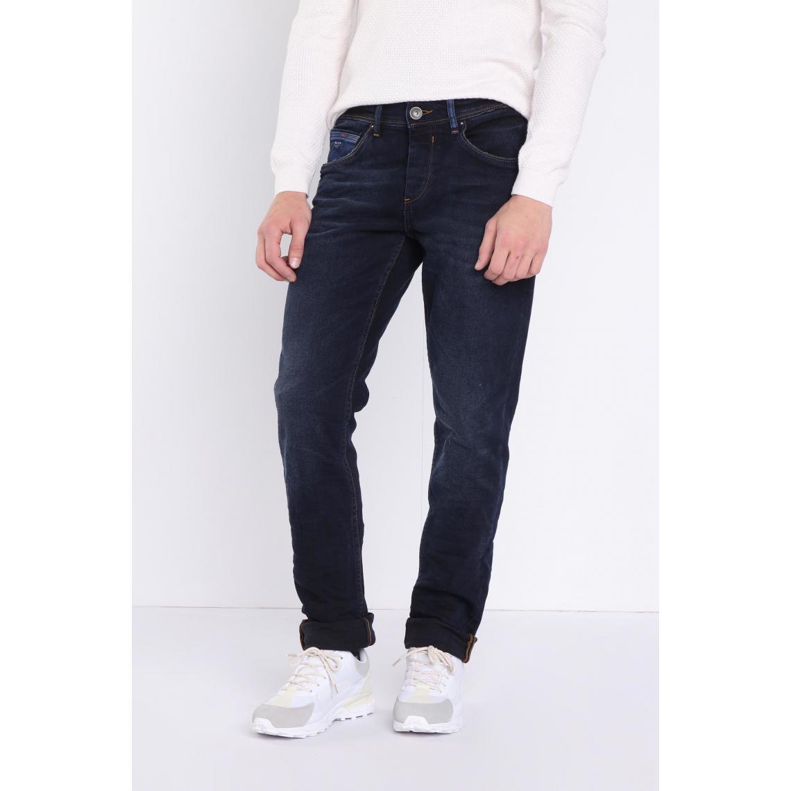 Jeans bootcut 5 poches used Plus de détails