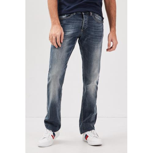 Bonobo - Jeans homme regular effet used - Toutes les Promos