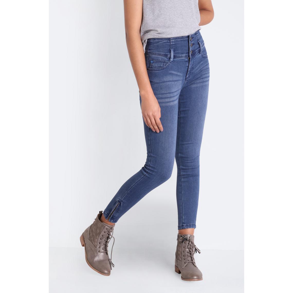 Promo : Jeans skinny taille haute - Bonobo - Modalova