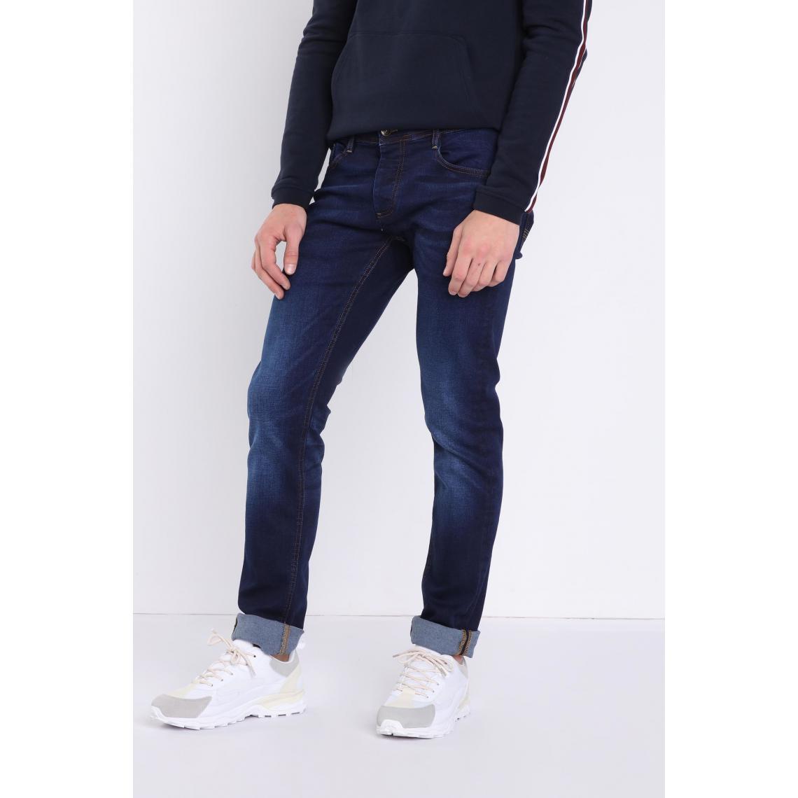 Jeans slim effet used Instinct - Bonobo - Modalova