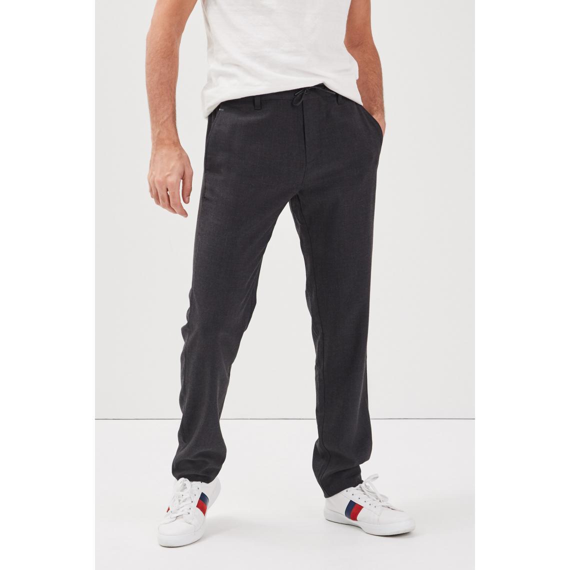 Pantalon chino cordon taille   3 SUISSES