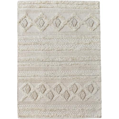 3S. x Home - Tapis Ivoire WANEY - Tapis