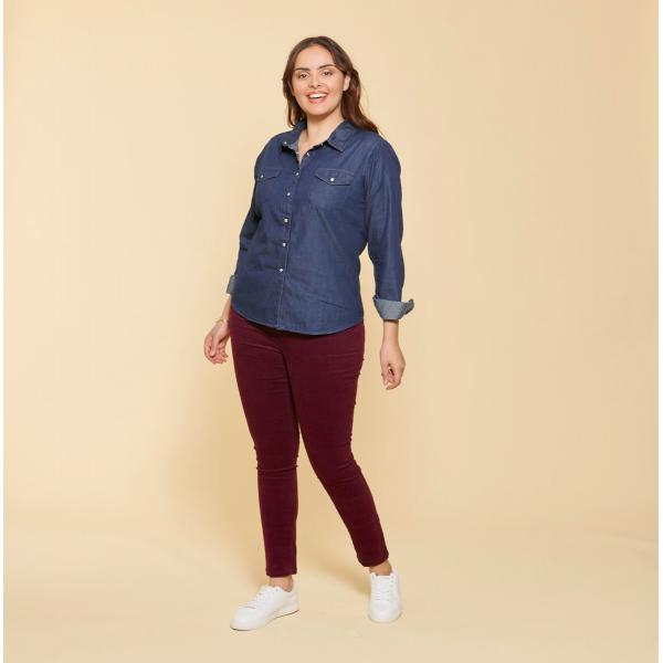 Pantalon 5 poches femme 3 SUISSES COLLECTION 3 SUISSES Femme