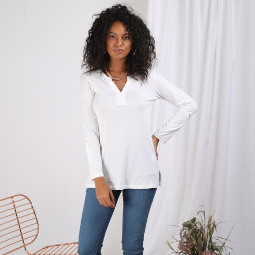 3 SUISSES - Tee-shirt - Blanc