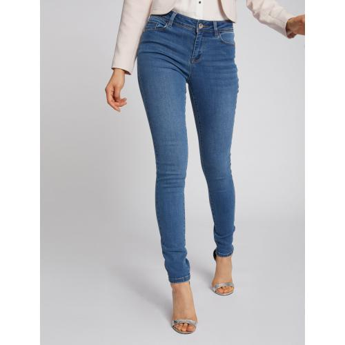 Morgan - Jeans slim taille standard à poches - Jean