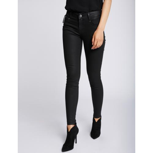 Morgan - Pantalon coupe slim texturé - Pantalon