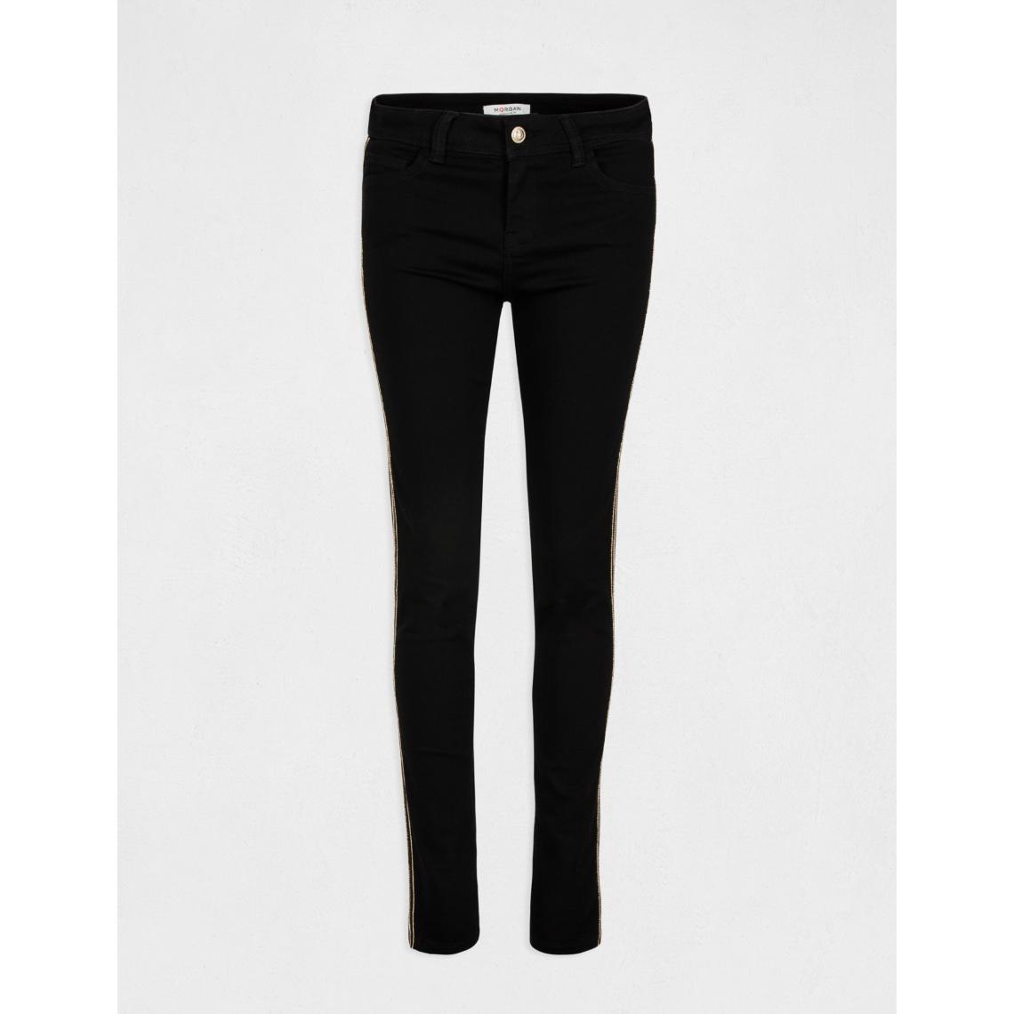 Pantalon slim bandes texturées 4AqtP