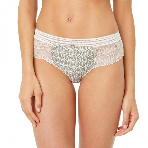 Morgan Lingerie - Shorty string imprimé palme Roxane MORGAN - Culotte, string et tanga