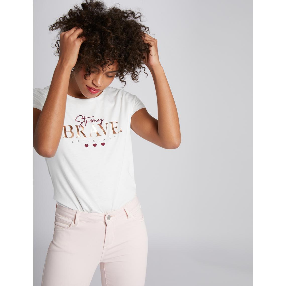 MORCHAN T-Shirt /à Manches Courtes col Rond Manches Courtes pour Femme