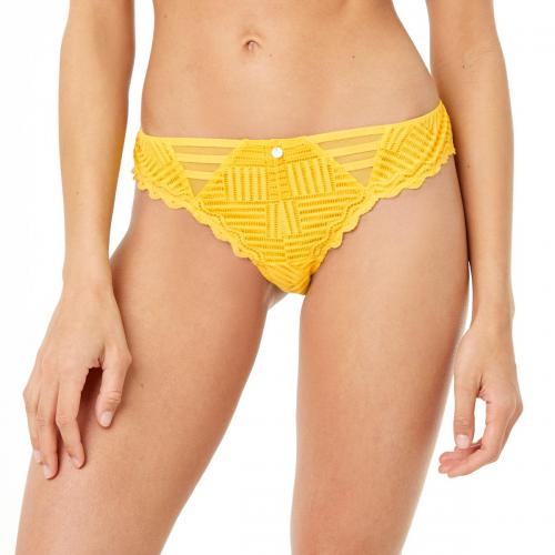 Morgan Lingerie - Tanga curcuma Lise MORGAN - Tangas, strings
