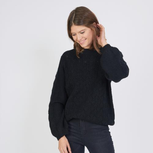 3S. x L'Edition - Pull maille pointelle - Hiver Sauvage