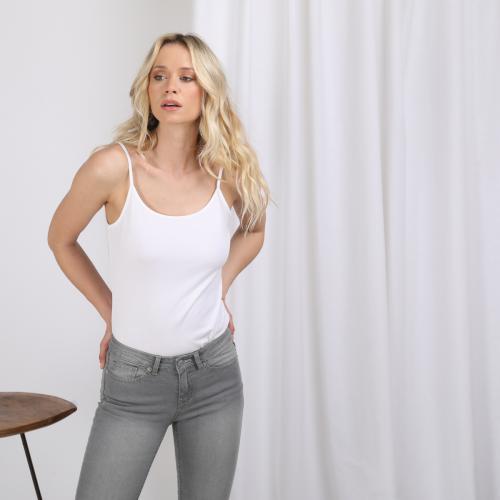 2XL 3XL 4XL Neuf Mesdames Tri-Blend À Dos Nageur Débardeur T-Shirt Femme Top XS-XL
