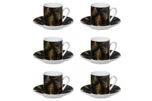 3S. x Home - Coffret 6 Tasses Lady Jungle 9CL - Verre