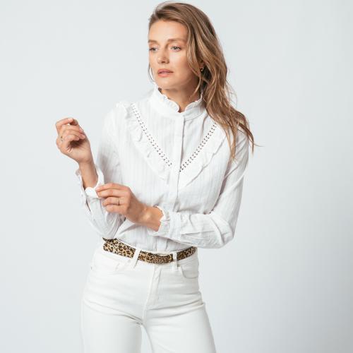 Chemise à volants Dali Réédition