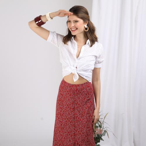 Chemise broderie anglaise Alice