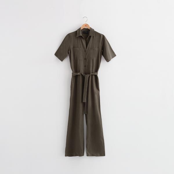 Combinaison pantalon en Lin Alicia Réédition 3S. x Réédition Mode femme