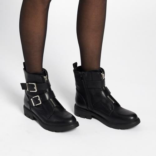 3S. x Stylist - Bottines motardes Judith - Les chaussures