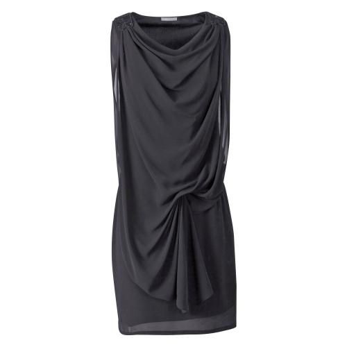 3 SUISSES Collection - Robe drapée 3 Suisses Collection femme - Noir - Robe