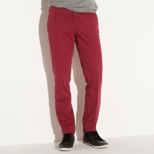 3S. x Collection - Pantalon chino rouge - Pantalon