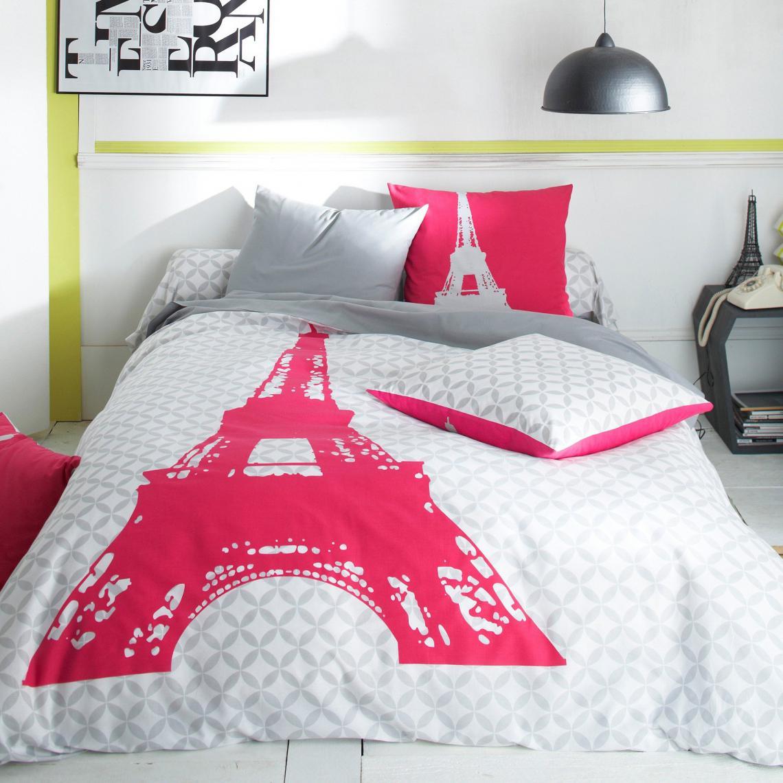 3 Suisses Taie Oreiller Tour Eiffel