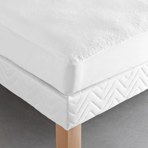 3S. x Collection - Protège-matelas imperméable éponge microfibre - blanc - 3S. x Collection