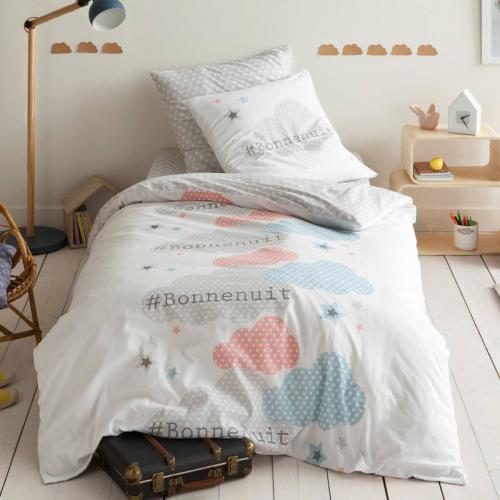 3S. x Collection - Housse de couette coton BONNE NUIT - multicolore - 3S. x Collection