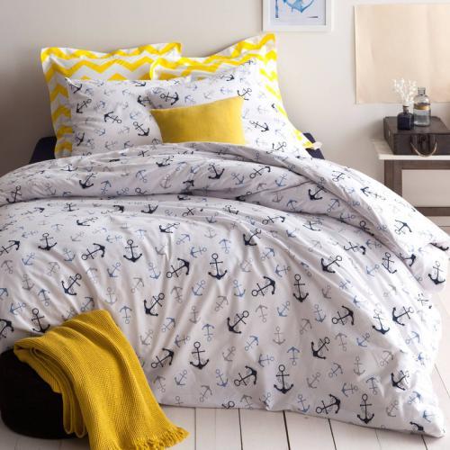 housse de couette coton housses de couette 3 suisses. Black Bedroom Furniture Sets. Home Design Ideas