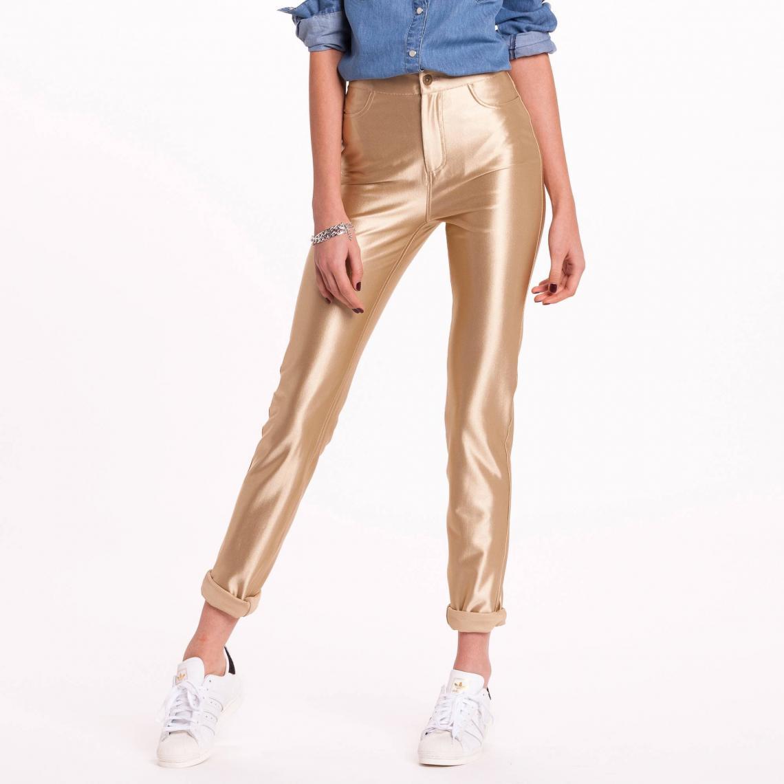 Doré Disco Pantalon Slim Femme Gris3 Suisses 4ARjc35Lq