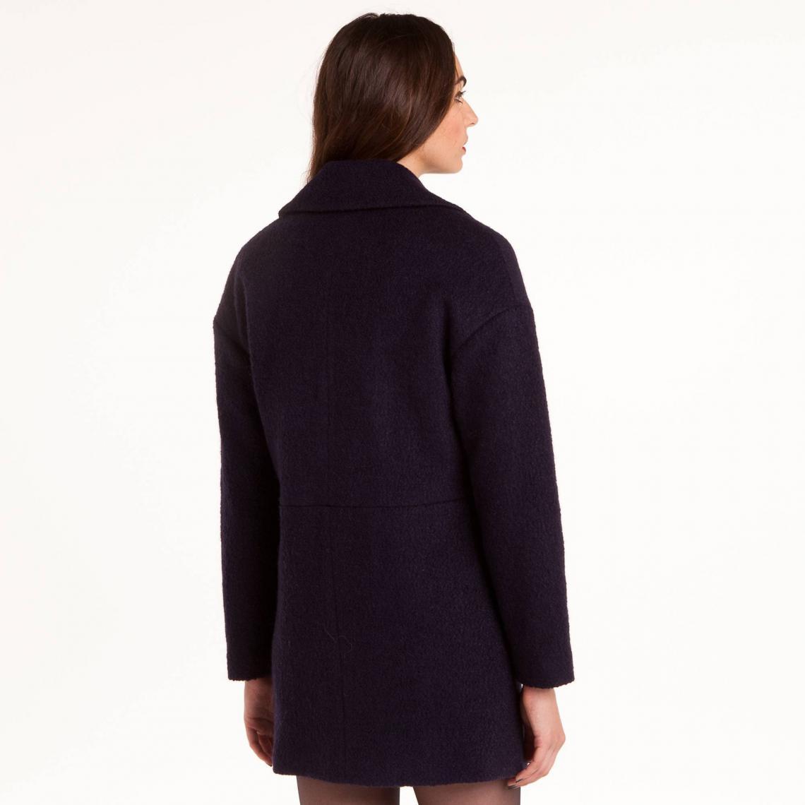6826e57eac037 Manteaux femme 3 Suisses Collection Cliquez l image pour l agrandir. Manteau  double boutonnage femme 3 Suisses Collection - Bleu Marine ...