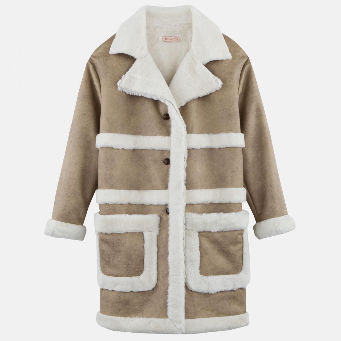 3 suisse manteau femme camel