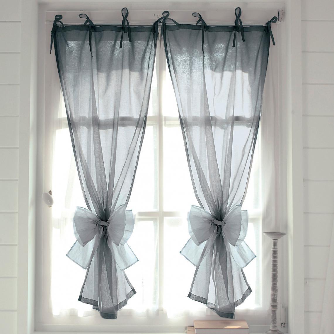 embrasse noeud organdi beige 3 suisses. Black Bedroom Furniture Sets. Home Design Ideas