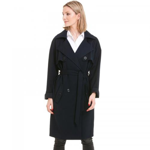 3 SUISSES Collection - Trench long femme 3 SUISSES Collection - Bleu - Trench