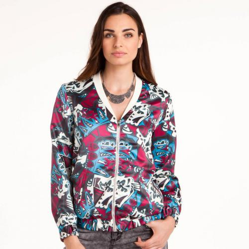 3 SUISSES Collection - Blouson zippé esprit teddy femme 3 SUISSES Collection - Multicolore - Blouson