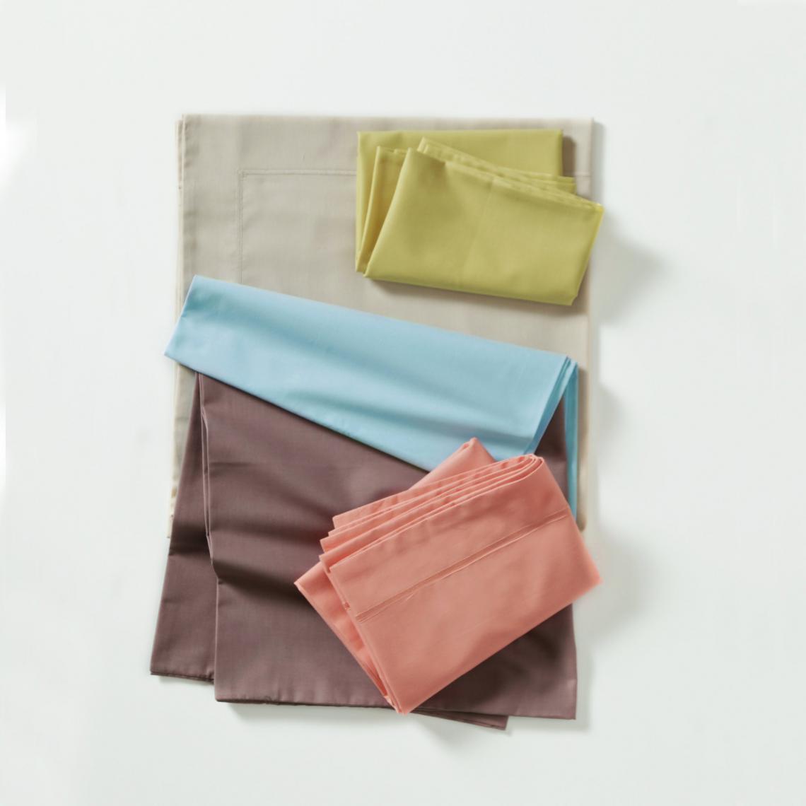 Drap housse spécial sommier articulé, coton traité antibactérien