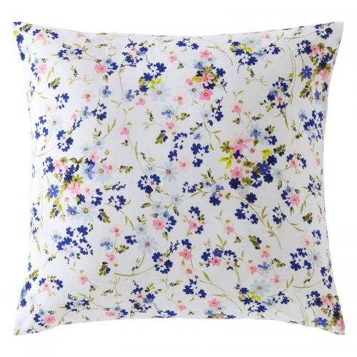3 SUISSES Collection - Housse de coussin coton imprimé Danyela - Multicolore - Promotions