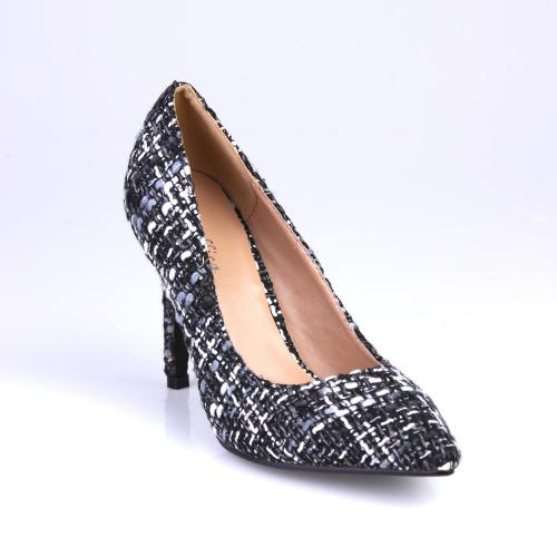 828aa263909cfa 3 SUISSES Collection - Escarpins à bouts pointus imprimés - Chaussures femme