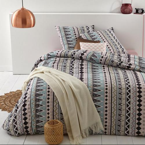 3S. x Collection - Parure de lit polycoton ARAWAKS - multicolore - Linge de lit
