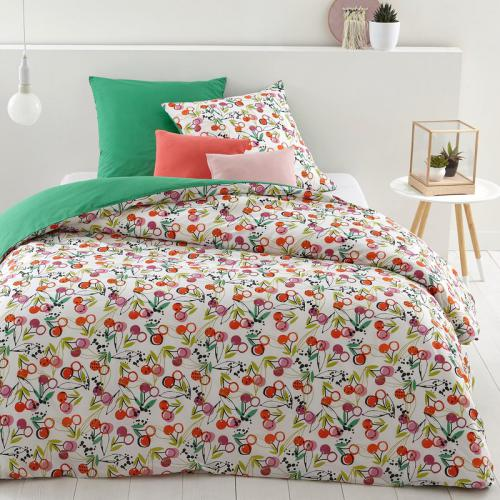 3S. x Collection - Parure de lit polycoton BIGARREAU - multicolore - Linge de maison