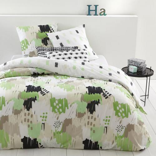 parure de lit linge de lit 3 suisses. Black Bedroom Furniture Sets. Home Design Ideas
