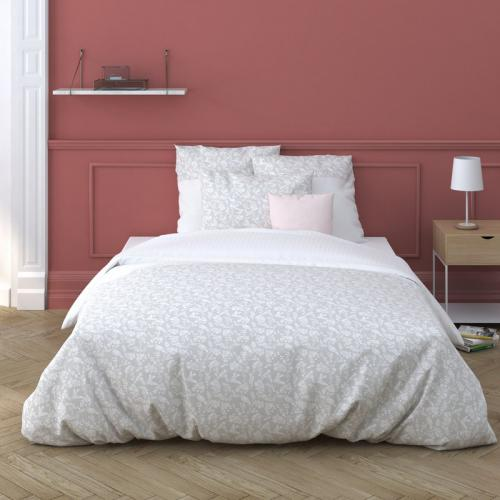 3S. x Collection - Housse de couette coton ROMIE - beige - Linge de lit