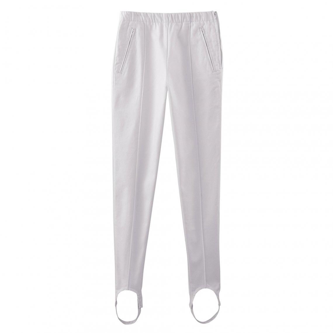 3 Collection Fuseau Femme Blanc Pantalon Suisses 8gqz6E
