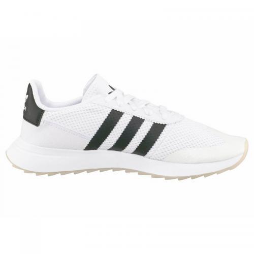 Adidas Originals - Sneaker Originals Flashback W femme adidas - Blanc -  Noir - Baskets femme d67489bd74ae