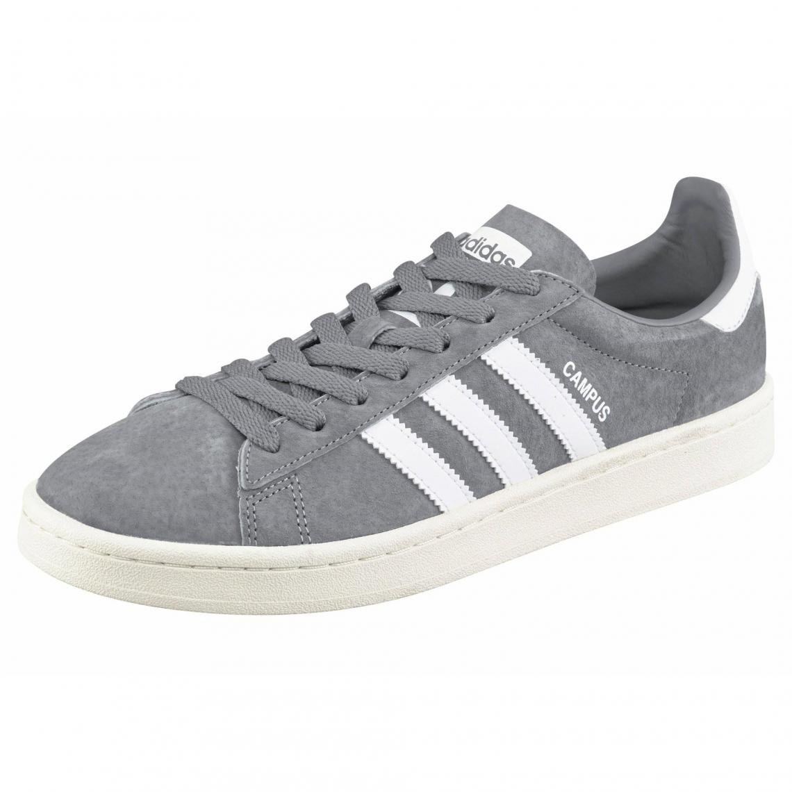 newest collection 5ac57 9e677 Sneaker Campus homme adidas Originals - Gris - Blanc Adidas Originals Homme
