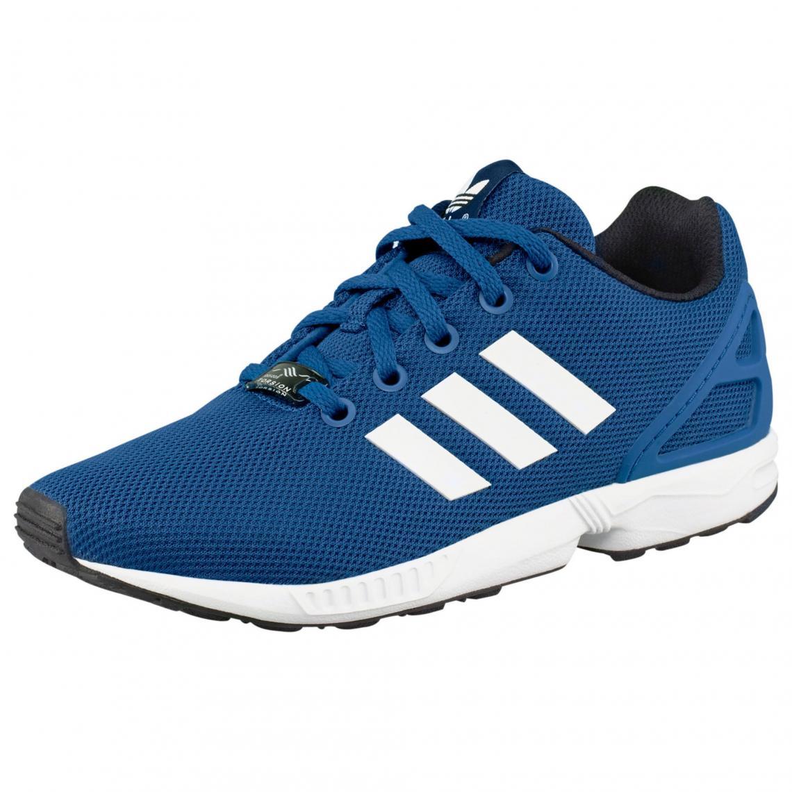 adidas originals zx flux homme bleu