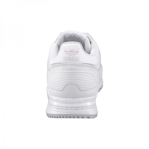 adidas Originals ZX 700 W baskets de running basse à lacets homme Blanc Plus de détails