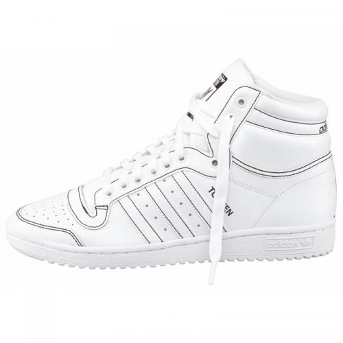 Adidas Originals - adidas Originals Top Ten Hi tennis montantes garçon - Blanc - Baskets