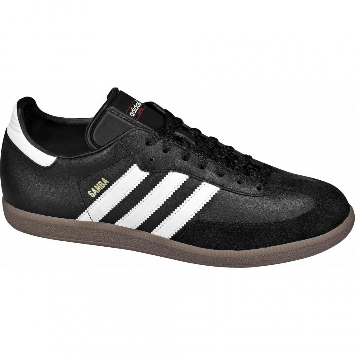 42338e1878e adidas Originals Samba sneakers cuir et synthétique homme - Noir Adidas  Originals Homme