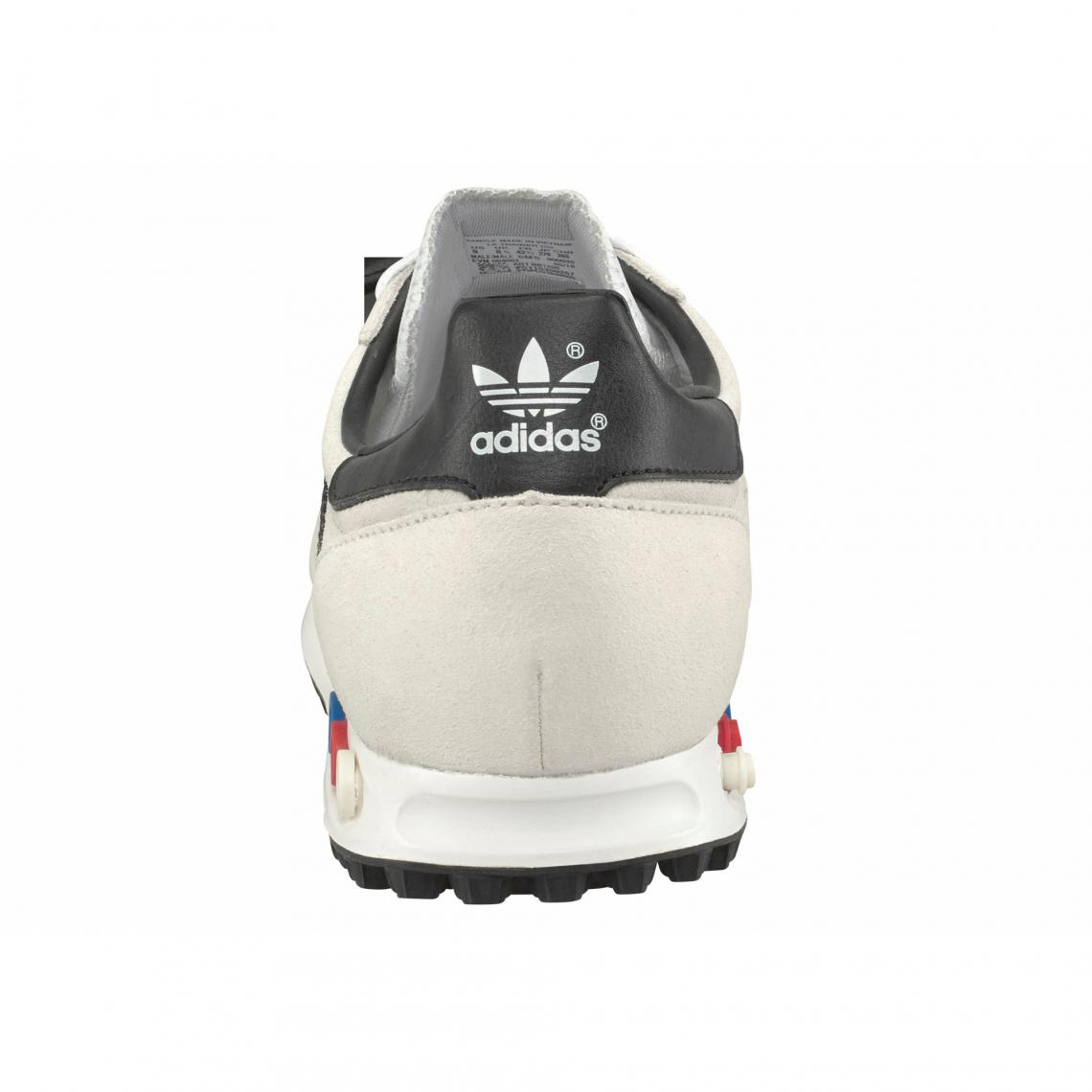 Baskets LA Trainer homme adidas Originals - Blanc Mat   3Suisses 5c3d239c51d6