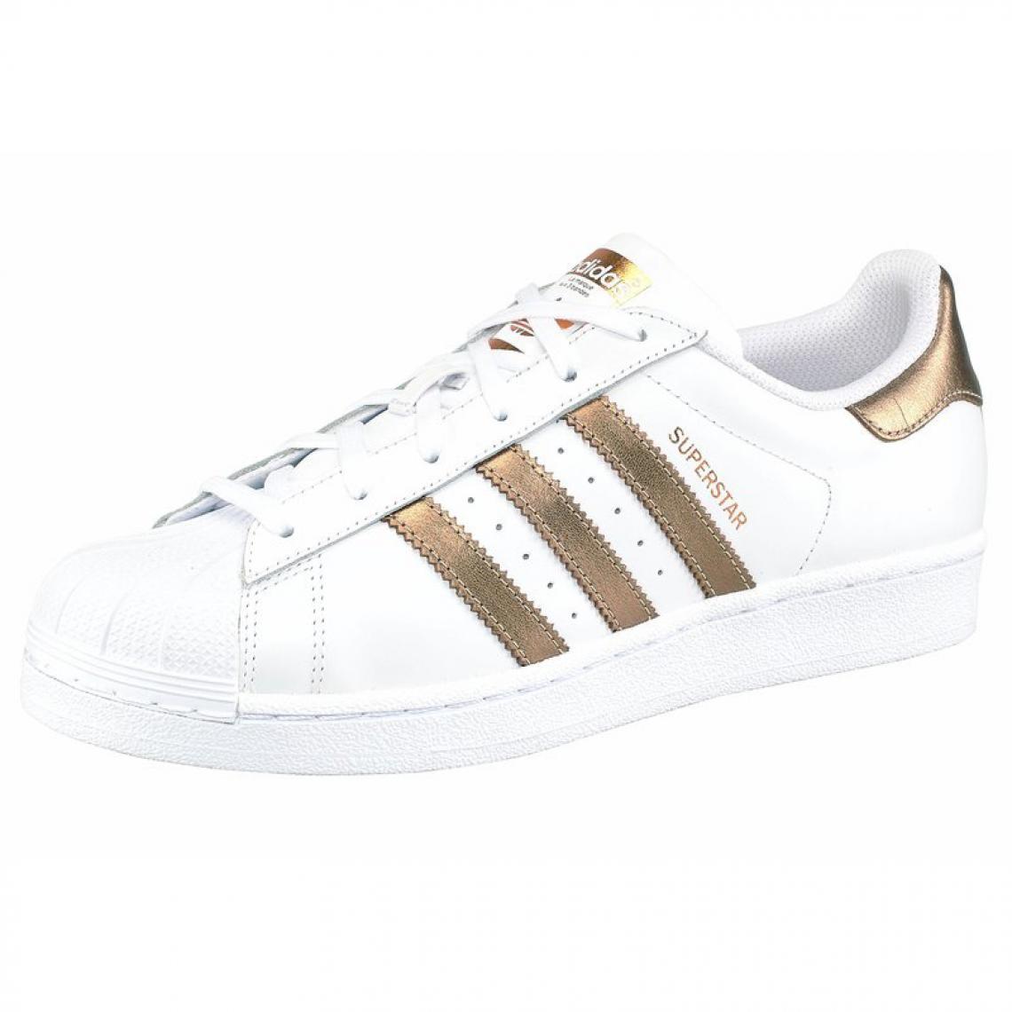 174637da0b9 Chaussures de sport ADIDAS Originals Sneaker Superstar W pour femme - Blanc  Adidas Originals Femme